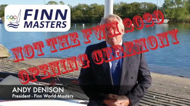 NOT the 2020 Finn World Masters Opening Ceremony