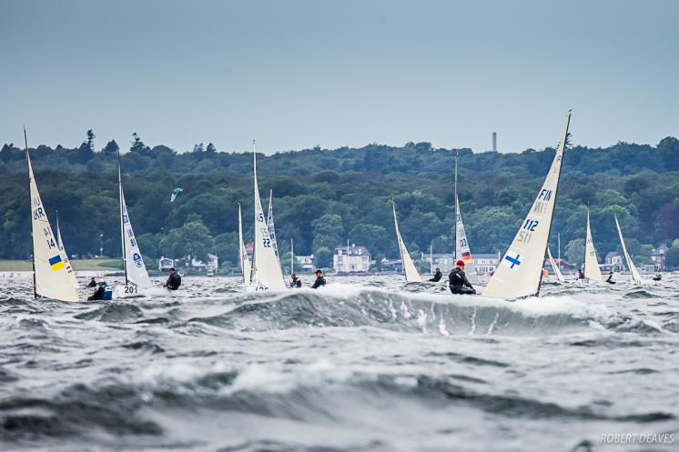 Maier, Krutskikh and Percival open Finn World Masters with race wins